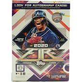 2020 Topps Fire Baseball 7-Pack Blaster Box