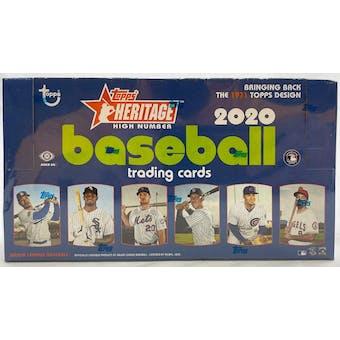 2020 Topps Heritage High Number Baseball Hobby Box
