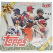 2020 Topps Holiday Baseball Mega Box
