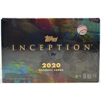 2020 Topps Inception Baseball Hobby Box