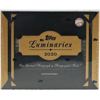 2020 Topps Luminaries Baseball Hobby Box