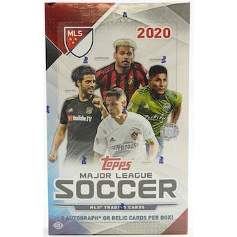 2020 Topps MLS Major League Soccer Hobby Box