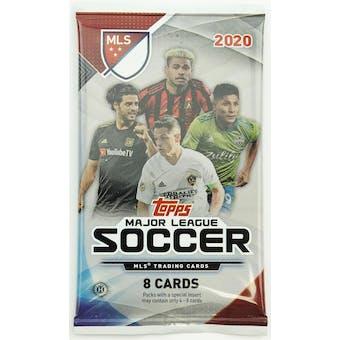 2020 Topps MLS Major League Soccer Hobby Pack