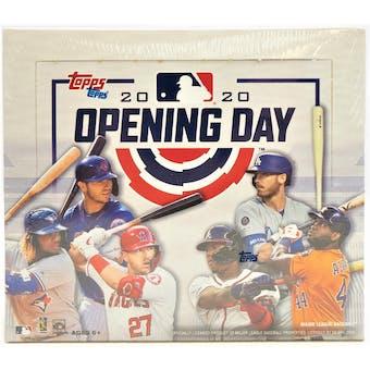 2020 Topps Opening Day Baseball Hobby Box