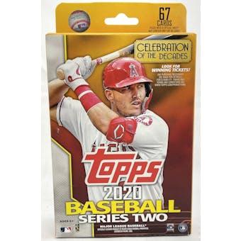 2020 Topps Series 2 Baseball Hanger Box (Lot of 5)