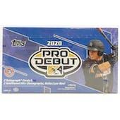2020 Topps Pro Debut Baseball Hobby Box