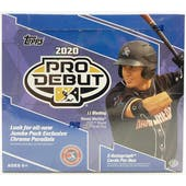 2020 Topps Pro Debut Baseball Hobby Jumbo Box