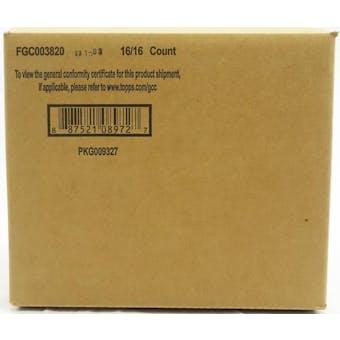 2020 Topps Stadium Club Baseball Hobby 16-Box Case