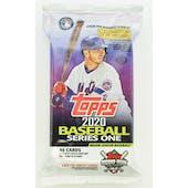 2020 Topps Series 1 Baseball Hobby Jumbo Pack