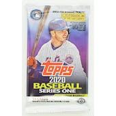 2020 Topps Series 1 Baseball Hobby Pack