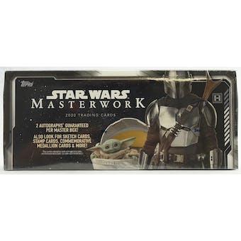 Star Wars Masterwork Hobby Box (Topps 2020)