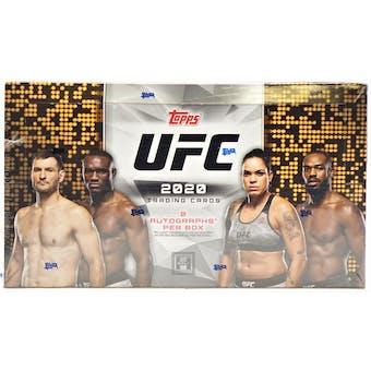 2020 Topps UFC Hobby Box