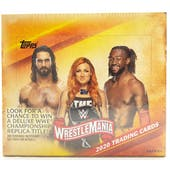 2020 Topps WWE Road to Wrestlemania Wrestling 24-Pack Box