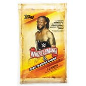 2020 Topps WWE Road to Wrestlemania Wrestling Pack
