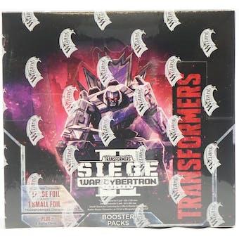 Transformers TCG: War for Cybertron - Siege II Booster Box