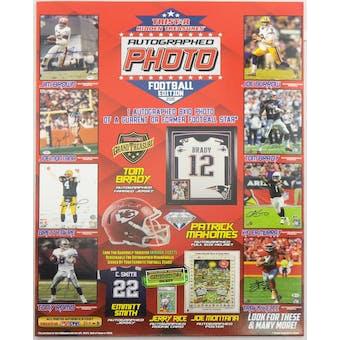 2020 TriStar Hidden Treasures Autographed Photo Football Hobby Pack