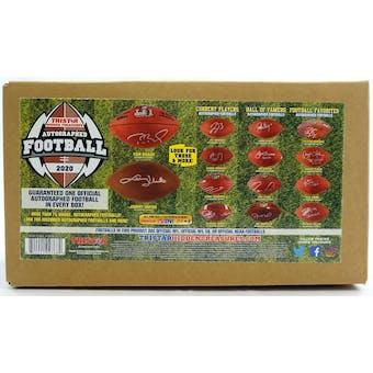 2020 TriStar Hidden Treasures Autographed Football Hobby Box