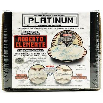 2021 TriStar Hidden Treasures Platinum Autographed Baseball Hobby Box