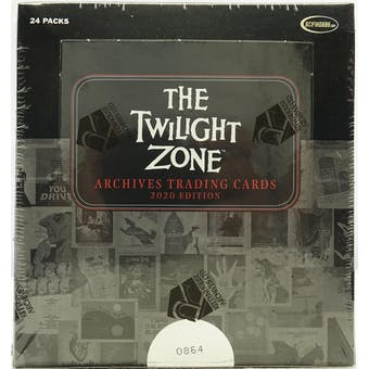 Twilight Zone Archives Trading Cards Box (Rittenhouse 2020)