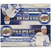 2019/20 Upper Deck Series 2 Hockey 24-Pack Box