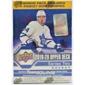 2019/20 Upper Deck Series 2 Hockey 7-Pack Blaster Box