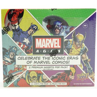 Marvel Ages Trading Cards Hobby Box (Upper Deck 2020)