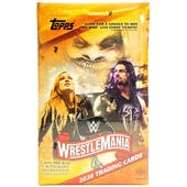 2020 Topps WWE Road to Wrestlemania Wrestling Hobby Box