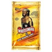 2020 Topps WWE Road to Wrestlemania Wrestling Hobby Pack