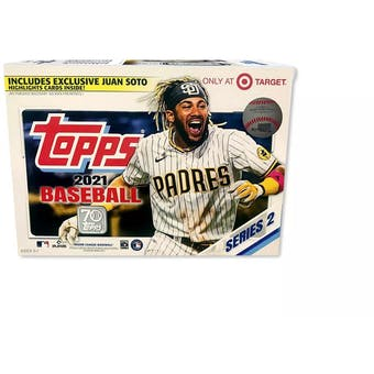 2021 Topps Series 2 Baseball Mega Box (Juan Soto Highlights!)