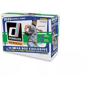 2021 Panini Donruss Baseball Mega Box