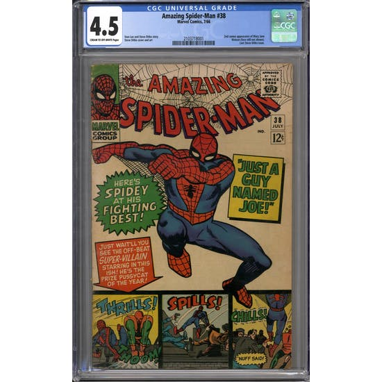 Amazing Spider-Man #38 CGC 4.5 (C-OW) *2103718001*