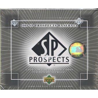 2004 Upper Deck SP Prospects Baseball Hobby Box