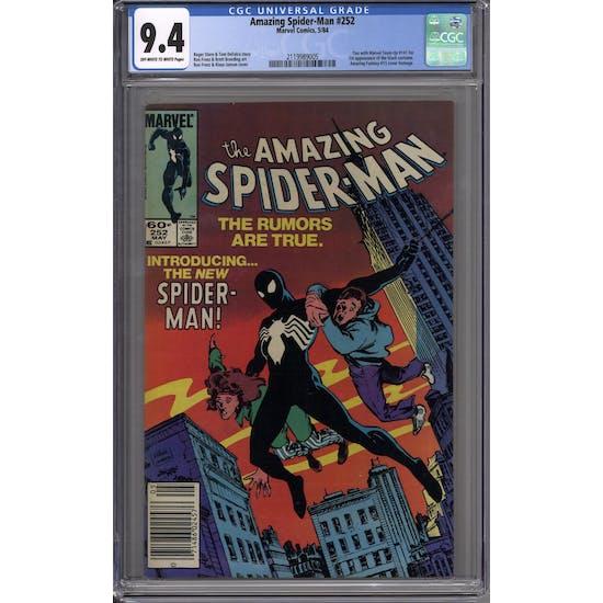 Amazing Spider-Man #252 CGC 9.4 (W) *2119989005*