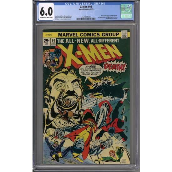 X-Men #94 CGC 6.0 (OW-W) *2121854020*