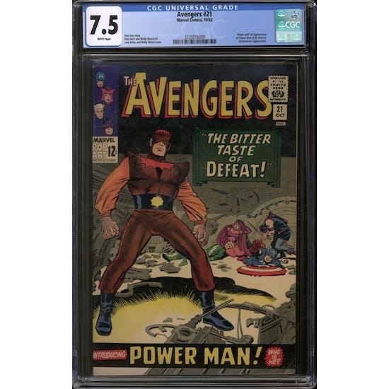 Avengers #21 CGC 7.5 (W) *2129216009*