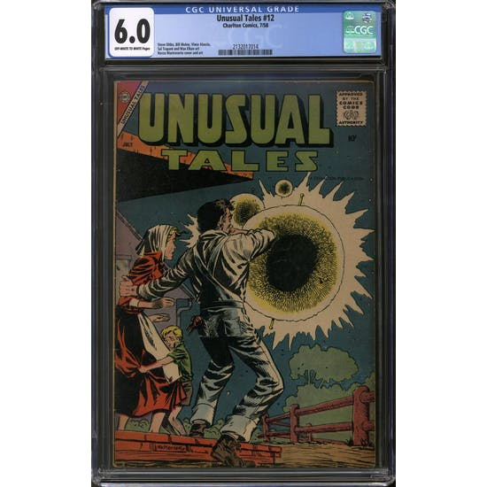 Unusual Tales #12 CGC 6.0 (OW-W) *2132017014*