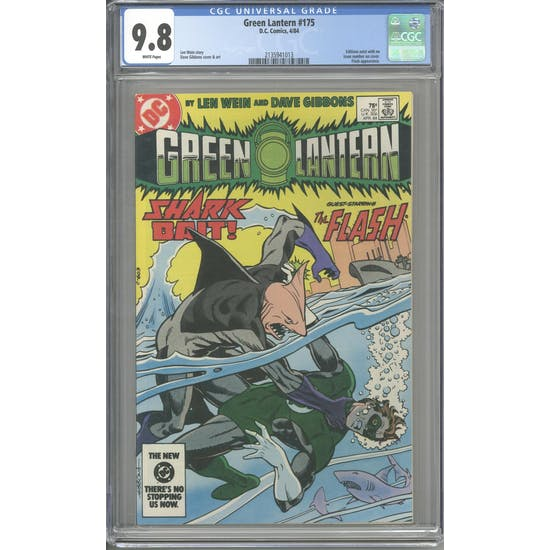 Green Lantern #175 CGC 9.8 (W) *2135941013*