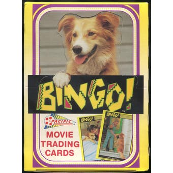 Bingo The Movie Trading Cards Wax Box (1991 Pacific)
