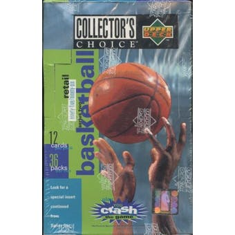 1995/96 Upper Deck Collector's Choice Series 2 Basketball 36 Pack Box