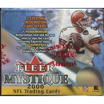 2000 Fleer Mystique Football Hobby Box