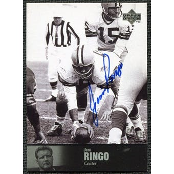 1997 Upper Deck Legends Autographs #AL16 Jim Ringo