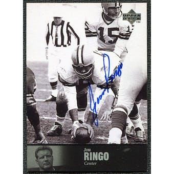 1997 Upper Deck Legends Autographs #AL16 Jim Ringo