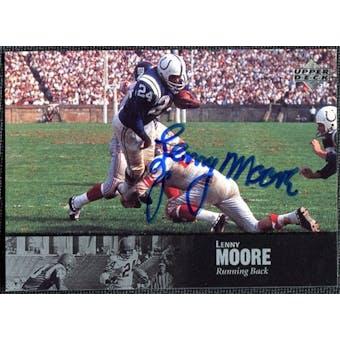 1997 Upper Deck Legends Autographs #AL19 Lenny Moore