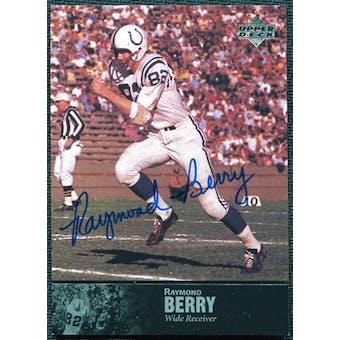 1997 Upper Deck Legends Autographs #AL23 Raymond Berry