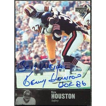 1997 Upper Deck Legends Autographs #AL27 Ken Houston