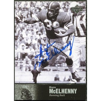 1997 Upper Deck Legends Autographs #AL33 Hugh McElhenny