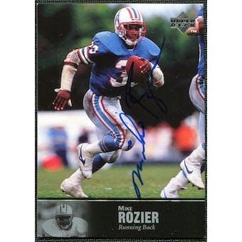 1997 Upper Deck Legends Autographs #AL36 Mike Rozier