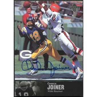1997 Upper Deck Legends Autographs #AL41 Charlie Joiner