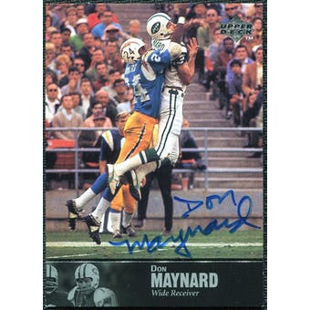 1997 Upper Deck Legends Autographs #AL49 Don Maynard