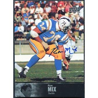 1997 Upper Deck Legends Autographs #AL52 Ron Mix
